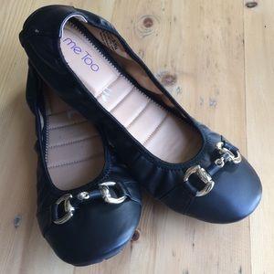 me Too black Leah 9.5 ballet flat